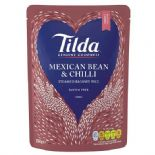 Tilda Steamed Mexican Chilli Bean Basmati Rice 250g